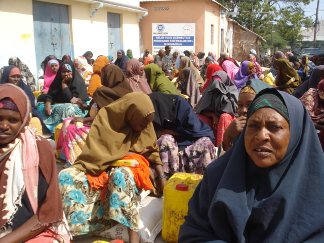 Relief Food Distribution Programme for WADAJIR IDPs in Mogadishu